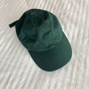 Vintage Green Canvas Hat